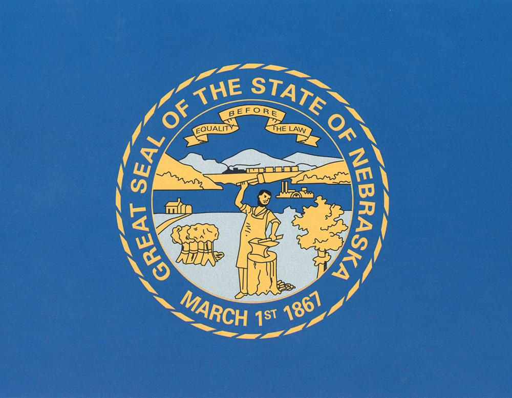 Nebraska Flag Flag 3 X5 Polyester