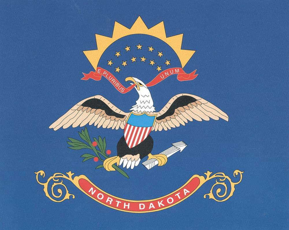 North Dakota Flag Flag 3 X5 Polyester