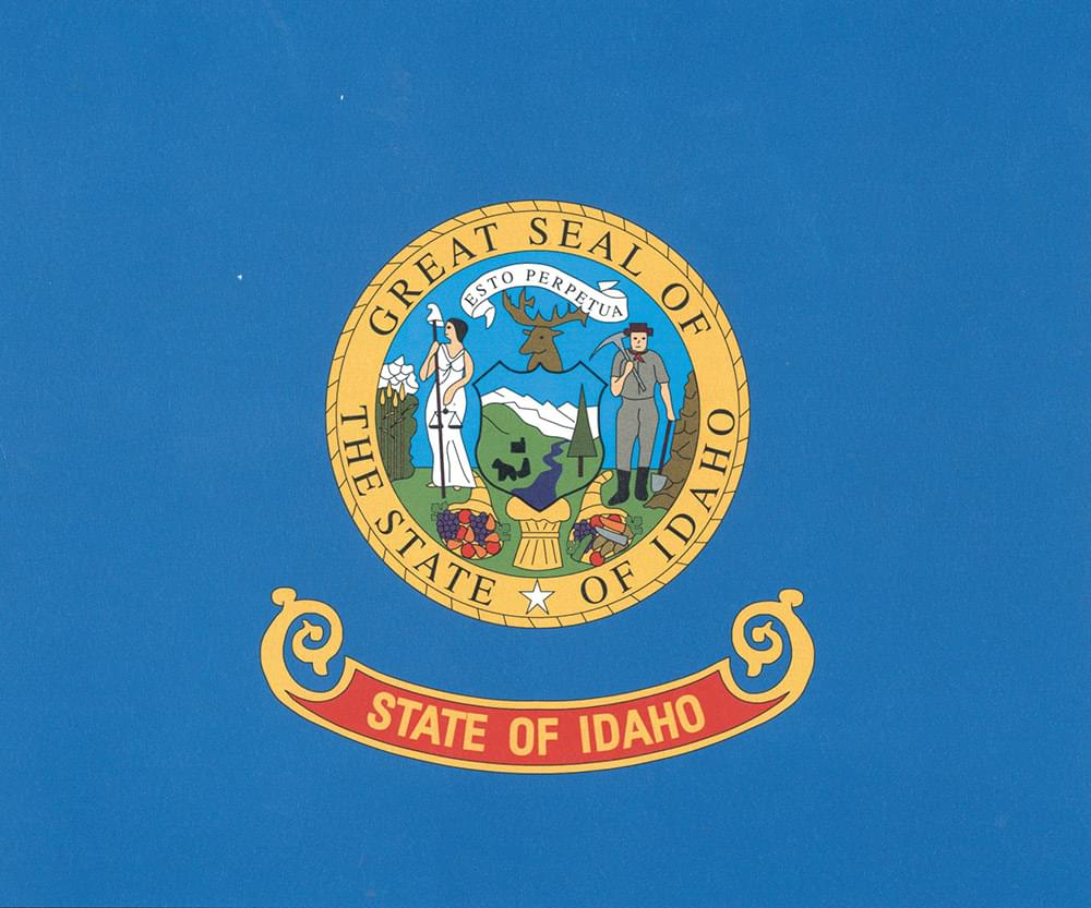 Idaho Flag Flag 3 X5 Polyester