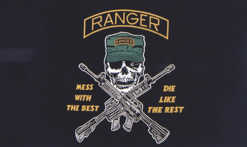Ranger Mess With The Best Flag 3 X5 Polyester