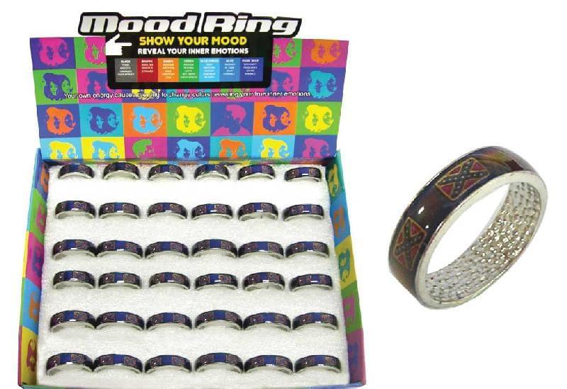 Confederate Mood Band Rings 36pcs Ut Ring