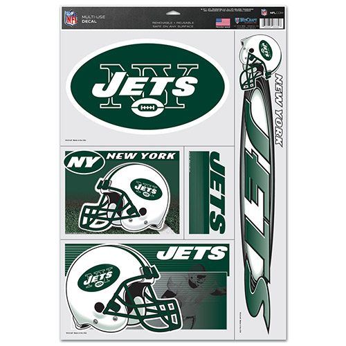 New York Jets 11 Quot X17 Quot Window Clings Decal