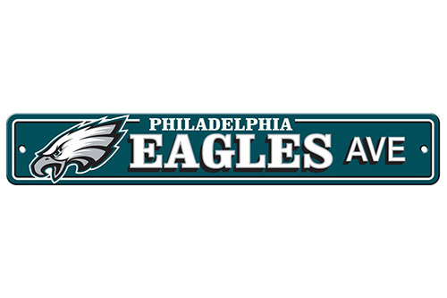 Philadelphia Eagles Plastic Street Signs Plastic Street